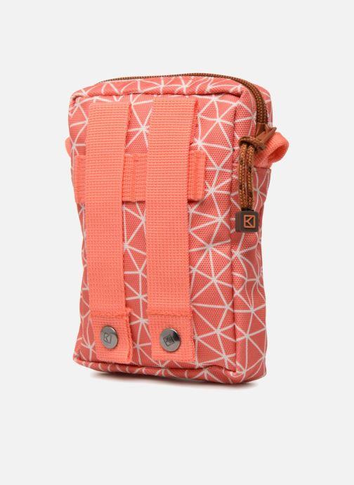 Kleine lederwaren Kuts Bodybag Zip Oranje rechts