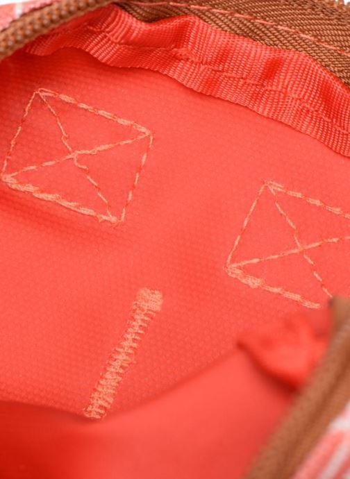 Kleine lederwaren Kuts Bodybag Zip Oranje achterkant