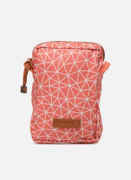 Kleine lederwaren Kuts Bodybag Zip Oranje detail