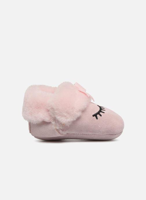 Hausschuhe UGG Blinxie I rosa ansicht von hinten