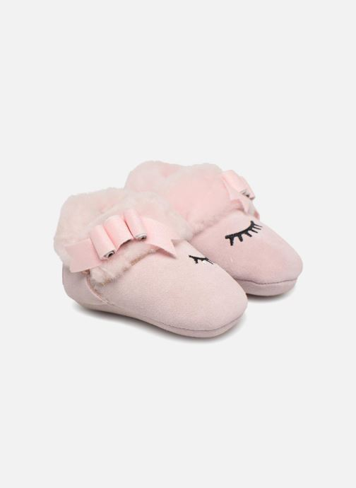 Chaussons UGG Blinxie I Rose vue détail/paire