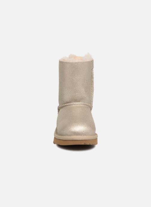 Boots & wellies UGG Bailey bow II T Bronze and Gold model view