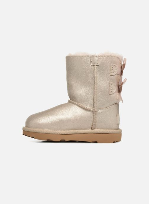 Boots & wellies UGG Bailey bow II T Bronze and Gold front view