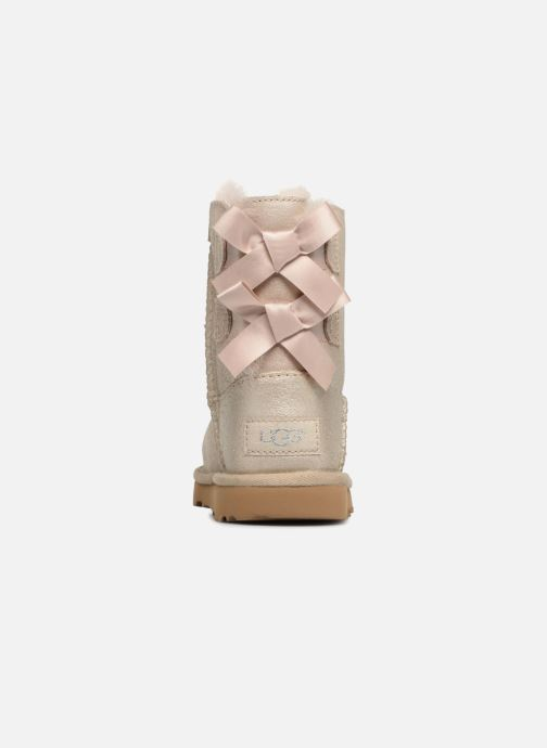 Boots & wellies UGG Bailey bow II T Bronze and Gold view from the right