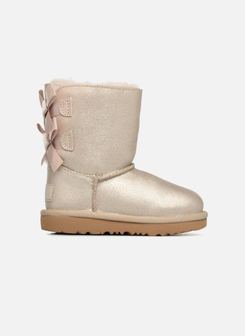 Boots & wellies UGG Bailey bow II T Bronze and Gold back view