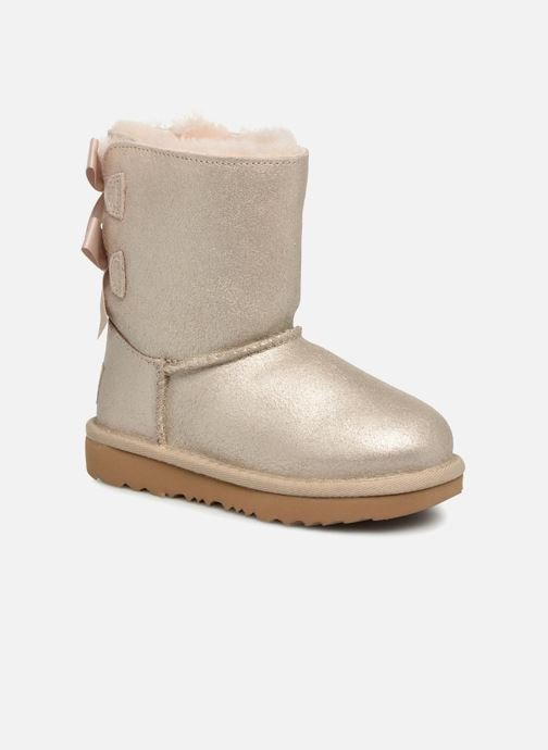 Boots & wellies UGG Bailey bow II T Bronze and Gold detailed view/ Pair view