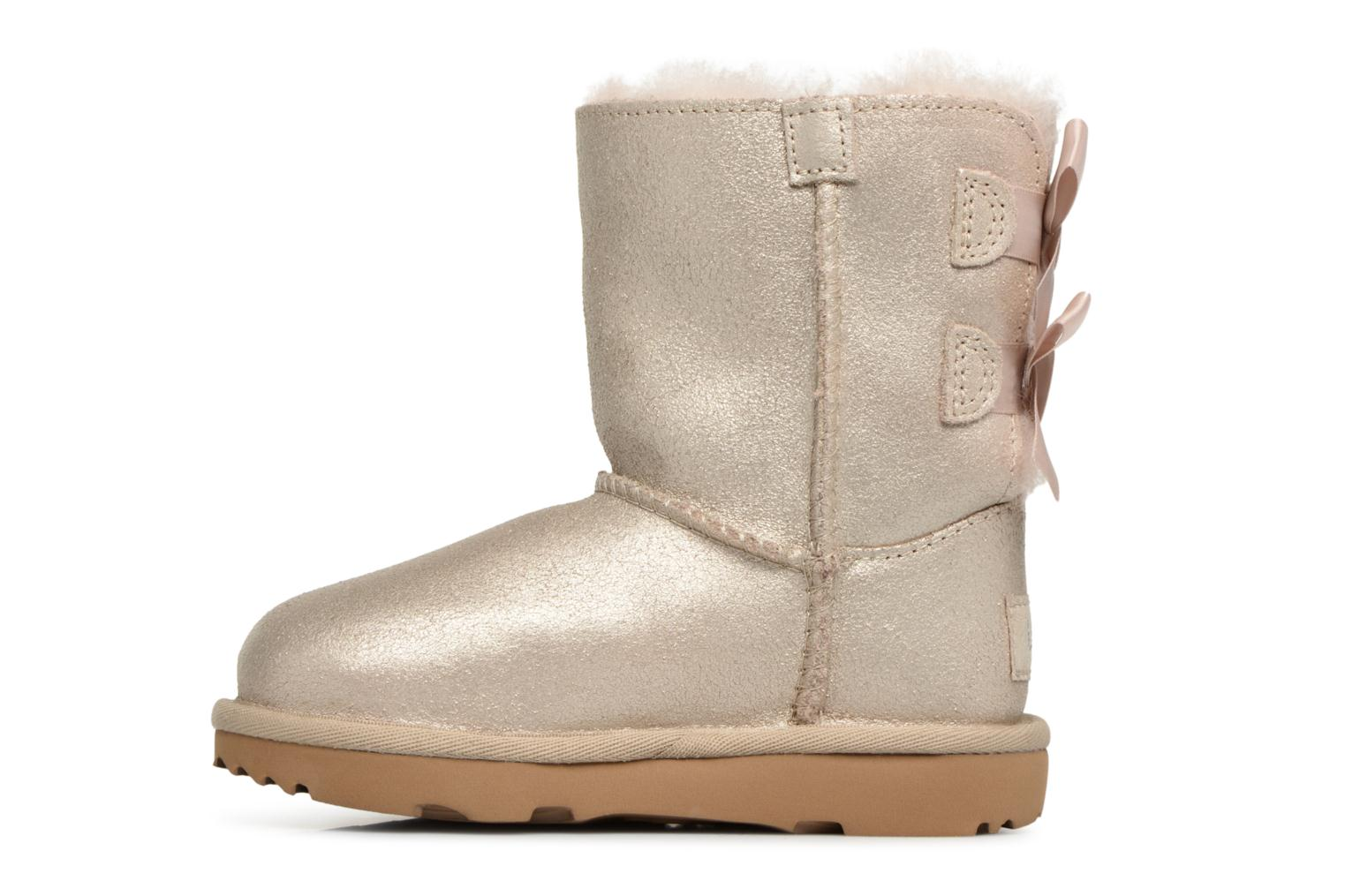 Bottes UGG Bailey bow II T Or et bronze vue face