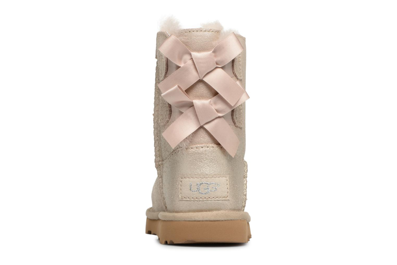 Bottes UGG Bailey bow II T Or et bronze vue droite