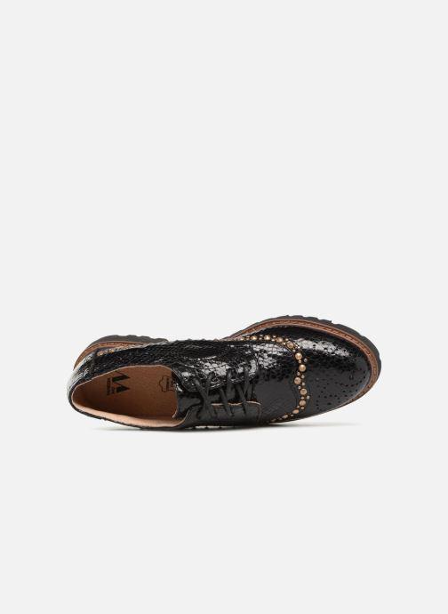 Chaussures à lacets Vanessa Wu ERGO Noir vue gauche