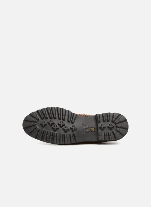 Zapatos con cordones Vanessa Wu ERGO Oro y bronce vista de arriba