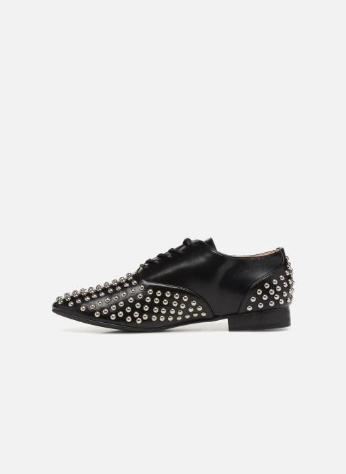 Zapatos con cordones Vanessa Wu LEDD Negro vista de frente