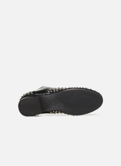 Zapatos con cordones Vanessa Wu LEDD Negro vista de arriba