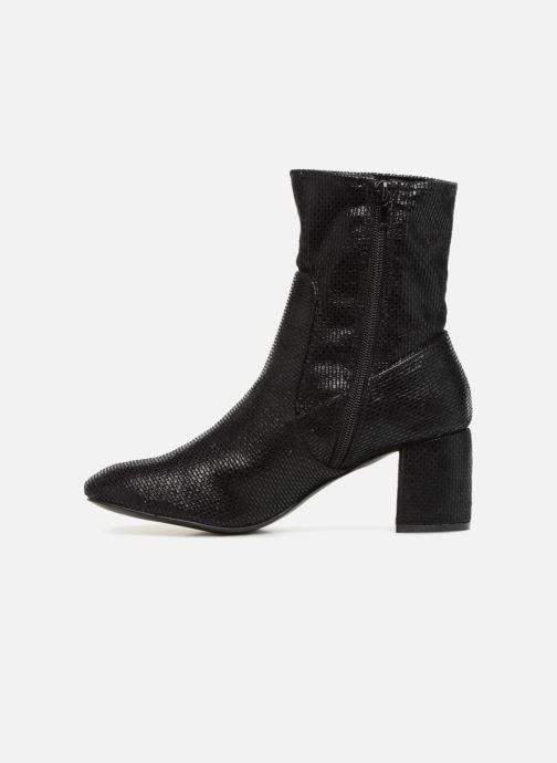 Bottines et boots Vanessa Wu SYBELLA Noir vue face