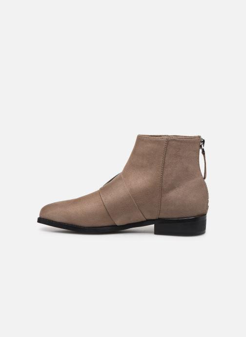 Bottines et boots Vanessa Wu TRIFFE Marron vue face