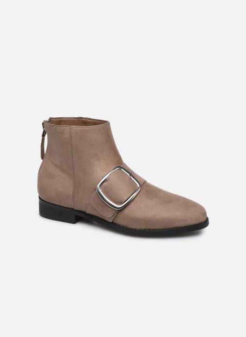Bottines et boots Vanessa Wu TRIFFE Marron vue détail/paire