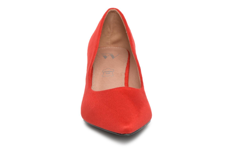 Escarpins Vanessa Wu VELLEDA Rouge vue portées chaussures