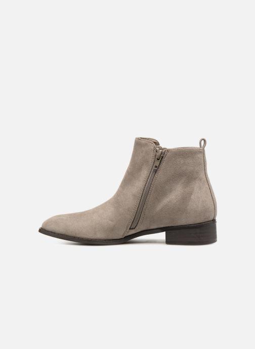 Bottines et boots Vanessa Wu DURY Gris vue face