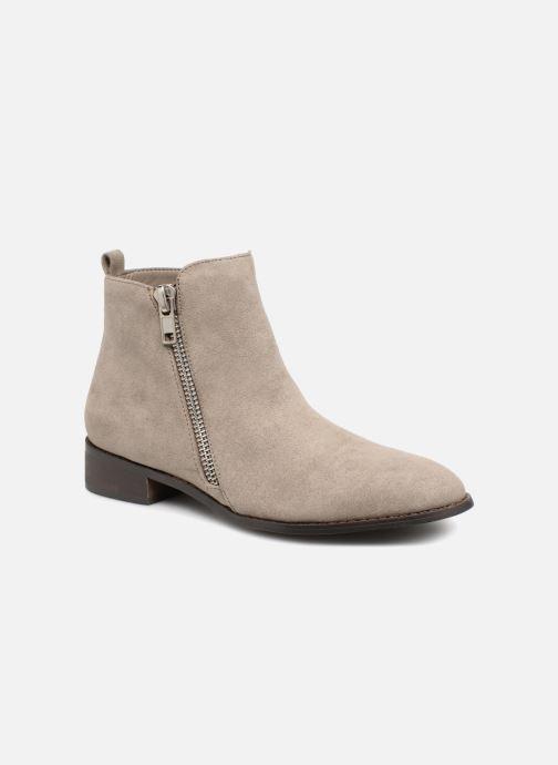 Bottines et boots Vanessa Wu DURY Gris vue détail/paire