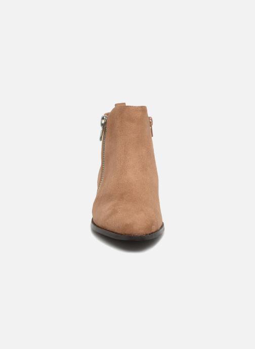 Bottines et boots Vanessa Wu DURY Marron vue portées chaussures