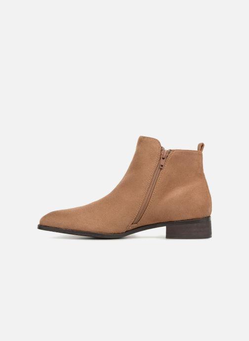 Bottines et boots Vanessa Wu DURY Marron vue face