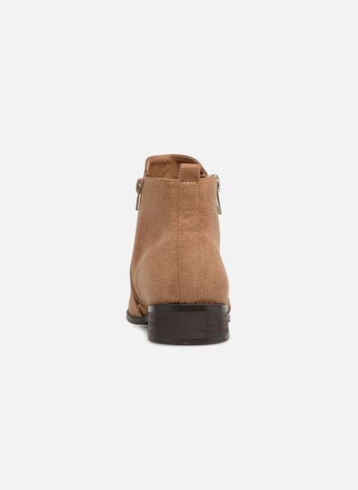 Bottines et boots Vanessa Wu DURY Marron vue droite