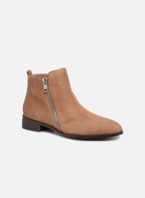 Bottines et boots Vanessa Wu DURY Marron vue détail/paire