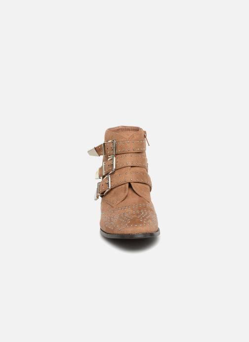 Boots en enkellaarsjes Vanessa Wu ATHELIA Bruin model