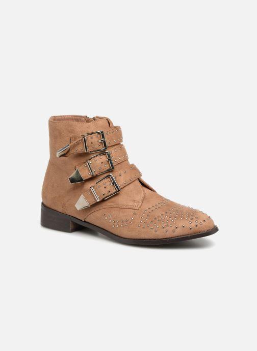 Boots en enkellaarsjes Vanessa Wu ATHELIA Bruin detail