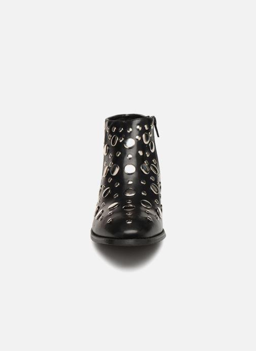 Bottines et boots Vanessa Wu GIELD Noir vue portées chaussures