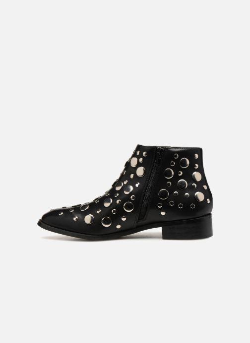Bottines et boots Vanessa Wu GIELD Noir vue face