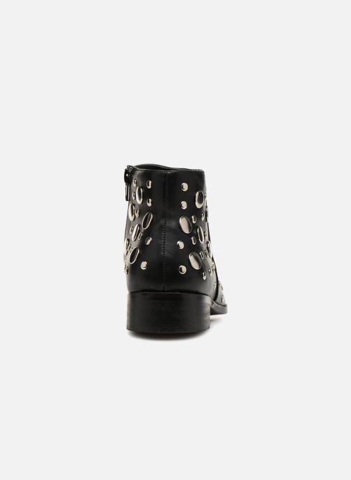Bottines et boots Vanessa Wu GIELD Noir vue droite