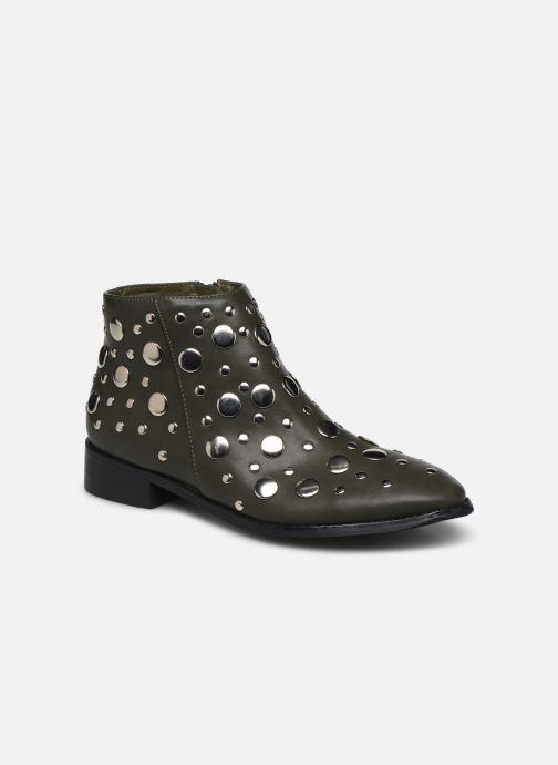 Bottines et boots Vanessa Wu GIELD Vert vue détail/paire
