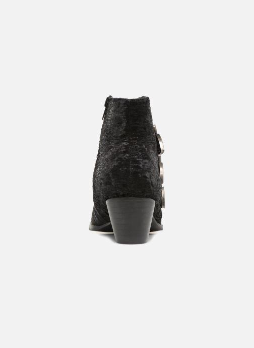 Bottines et boots Vanessa Wu SUNIA Noir vue droite
