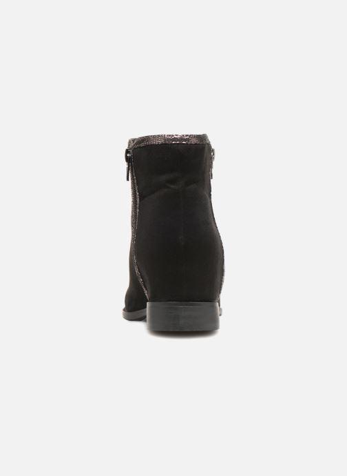 Boots en enkellaarsjes Vanessa Wu MALPE Zwart rechts