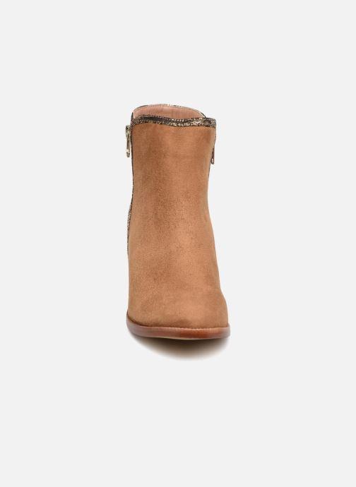 Boots Vanessa Wu MALPE Brun bild av skorna på