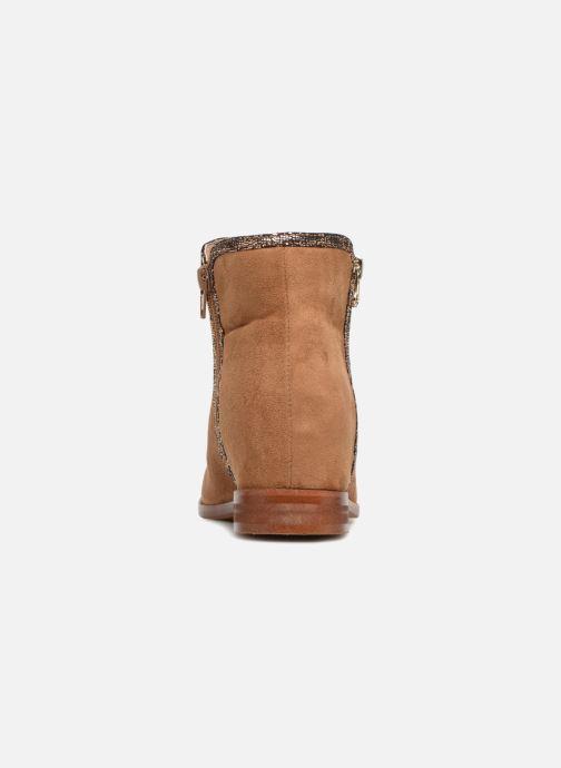 Bottines et boots Vanessa Wu MALPE Marron vue droite
