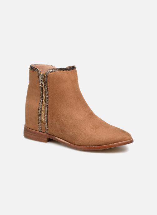 Bottines et boots Vanessa Wu MALPE Marron vue détail/paire