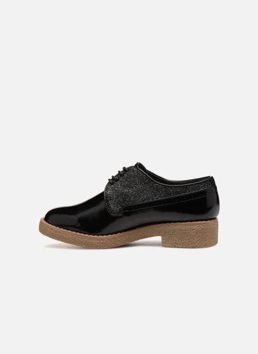 Zapatos con cordones Vanessa Wu NEREN Negro vista de frente