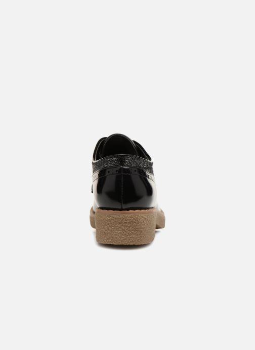 Zapatos con cordones Vanessa Wu NEREN Negro vista lateral derecha