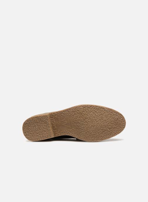 Zapatos con cordones Vanessa Wu NEREN Negro vista de arriba