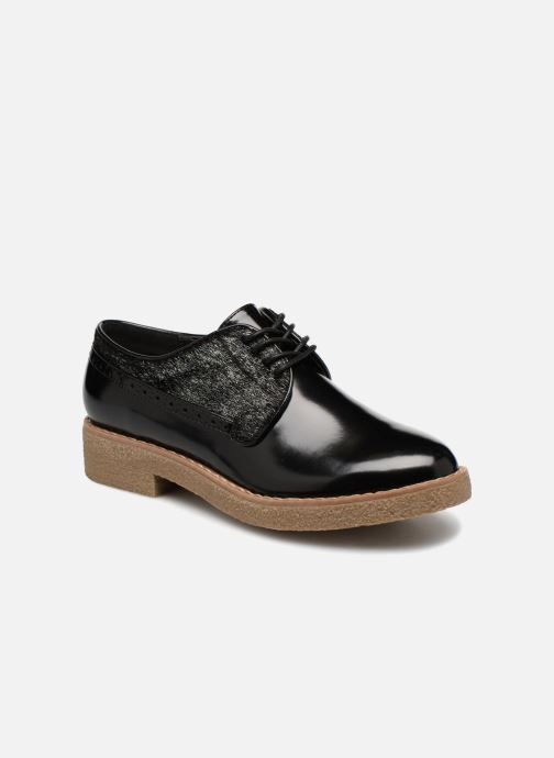 Zapatos con cordones Vanessa Wu NEREN Negro vista de detalle / par