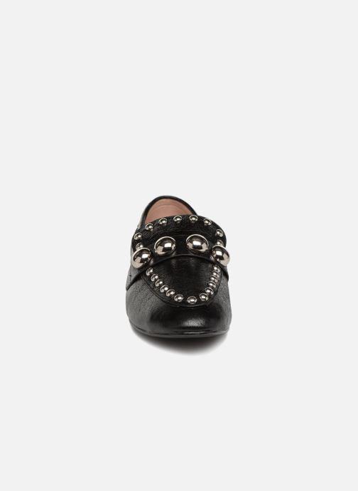Mocassins Vanessa Wu TUIL Noir vue portées chaussures