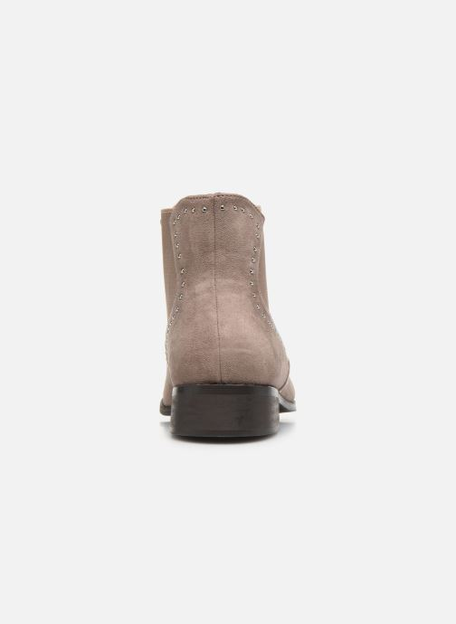 Ankle boots Vanessa Wu BATTY Brown view from the right