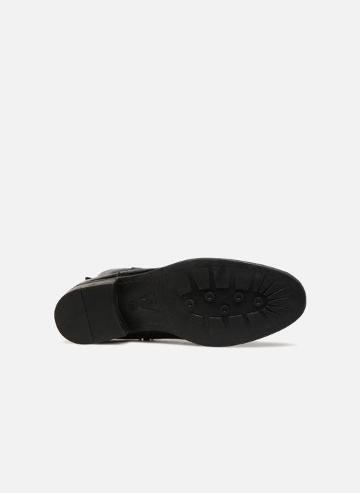 Bottines et boots Vanessa Wu PYLLI Noir vue haut