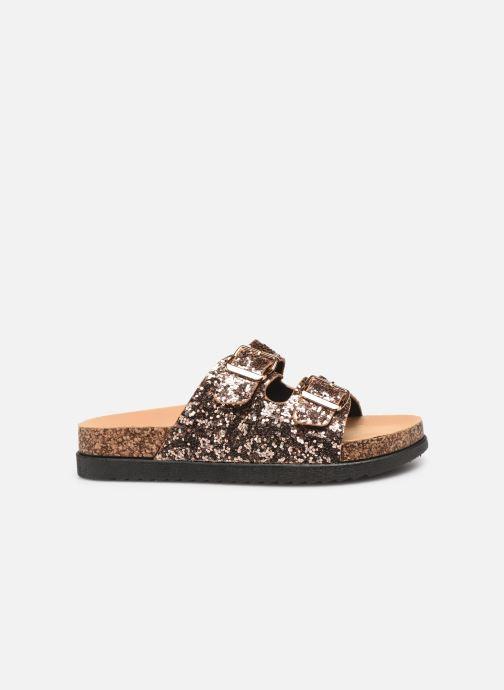 Zuecos I Love Shoes Therika Rosa vistra trasera