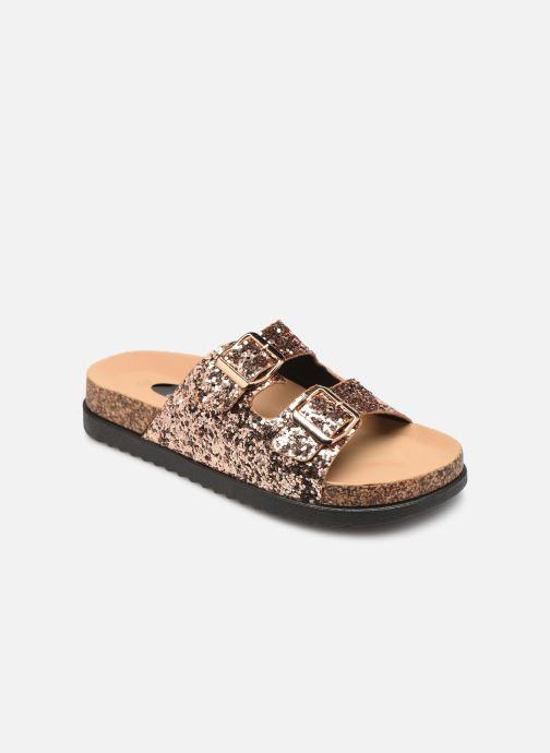 Zuecos I Love Shoes Therika Rosa vista de detalle / par
