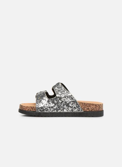 Clogs & Pantoletten I Love Shoes Therika silber ansicht von vorne