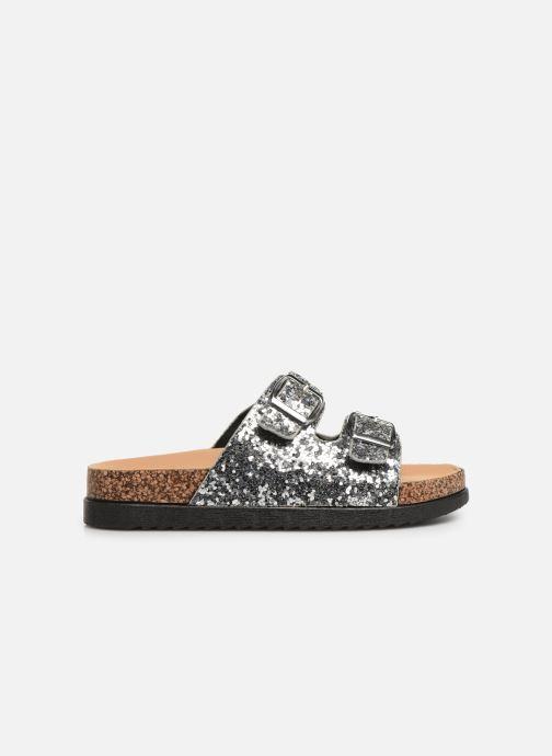Clogs & Pantoletten I Love Shoes Therika silber ansicht von hinten