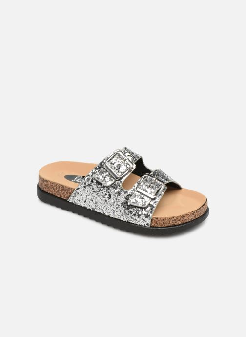 Clogs & Pantoletten I Love Shoes Therika silber detaillierte ansicht/modell
