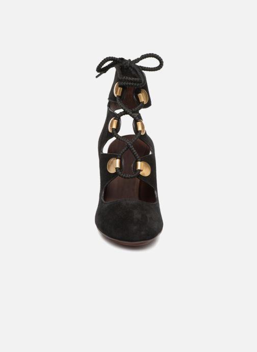 Sandali e scarpe aperte See by Chloé Edna 10 Nero modello indossato